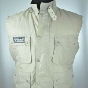 Belstaff Stone Gray Vest *Quilted Lining*